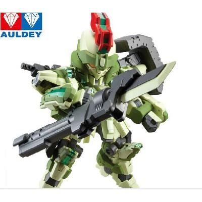 奥迪双钻超限猎兵重装凯能 q版拼装模型机器人手办553002