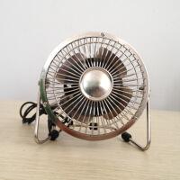 ZY-04 金属 铁艺360度旋转USB风扇 铁金刚 6寸
