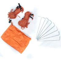 户外用品帐篷配件 风绳地钉 天幕拉绳套装 带收纳袋