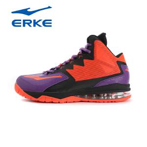 鸿星尔克男鞋篮球鞋春季新款训练气垫减震篮球战靴耐磨运动鞋