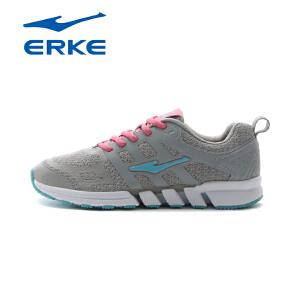 鸿星尔克正品新款夏季轻便网面透气慢跑鞋减震耐磨运动鞋女鞋
