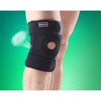 新款 篮球羽毛球跑步骑行护膝   专业运动护膝    男女通用护膝   四弹簧减压 硅胶防滑