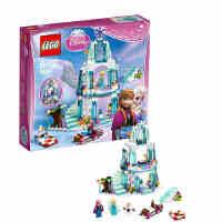 新品乐高迪士尼公主41062艾莎的冰雪城堡 LEGO 玩具
