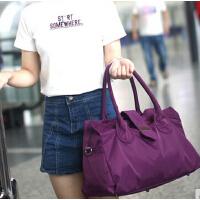 新款女包韩版单肩斜挎包手提包大容量旅行包防水尼龙包