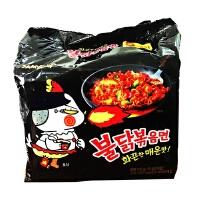 [当当自营] 韩国进口 三养辣炒鸡肉味拌面5连包700g