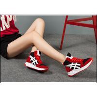 王菲儿踝靴高帮真皮休闲鞋单鞋平底女靴短靴运动鞋8817