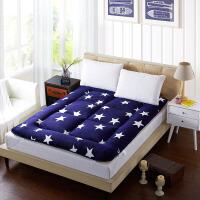 绚典家纺 30%羊毛立体床垫床褥 榻榻米单双人床褥 两面可用 可拆洗