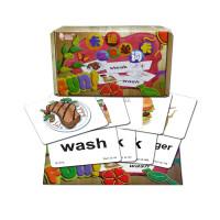 儿童看图学英语 英文单词卡字母卡片幼儿有声早教小学