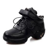 时尚舞蹈鞋  新款牛皮软底高帮现代舞 爵士舞鞋广场舞
