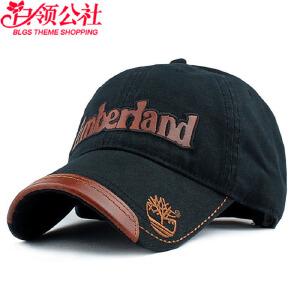 白领公社 棒球帽 男新款韩版潮男女士春夏季牛仔帽帆布帽户外遮阳帽字母鸭舌帽嘻哈帽学生帽子
