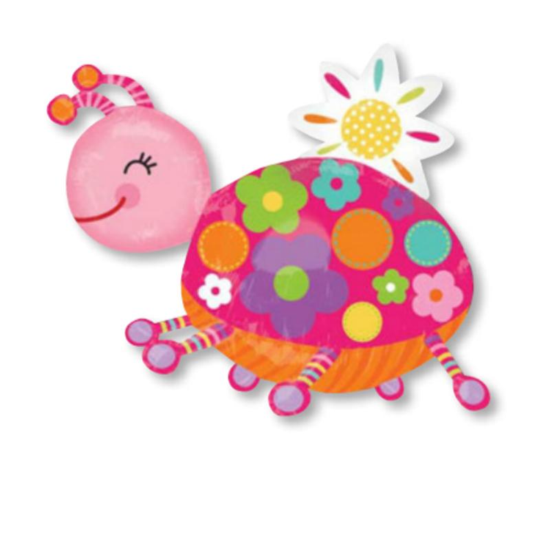 孩派 各种动物铝箔气球 装饰用品 铝箔气球 1个_粉色小乌龟2882001