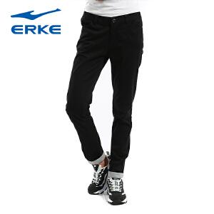 鸿星尔克长裤女 休闲女子长裤简洁时尚显瘦长裤 女士修身长裤