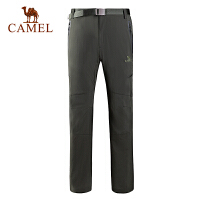 camel骆驼户外男款速干长裤 易干透气轻薄男速干裤