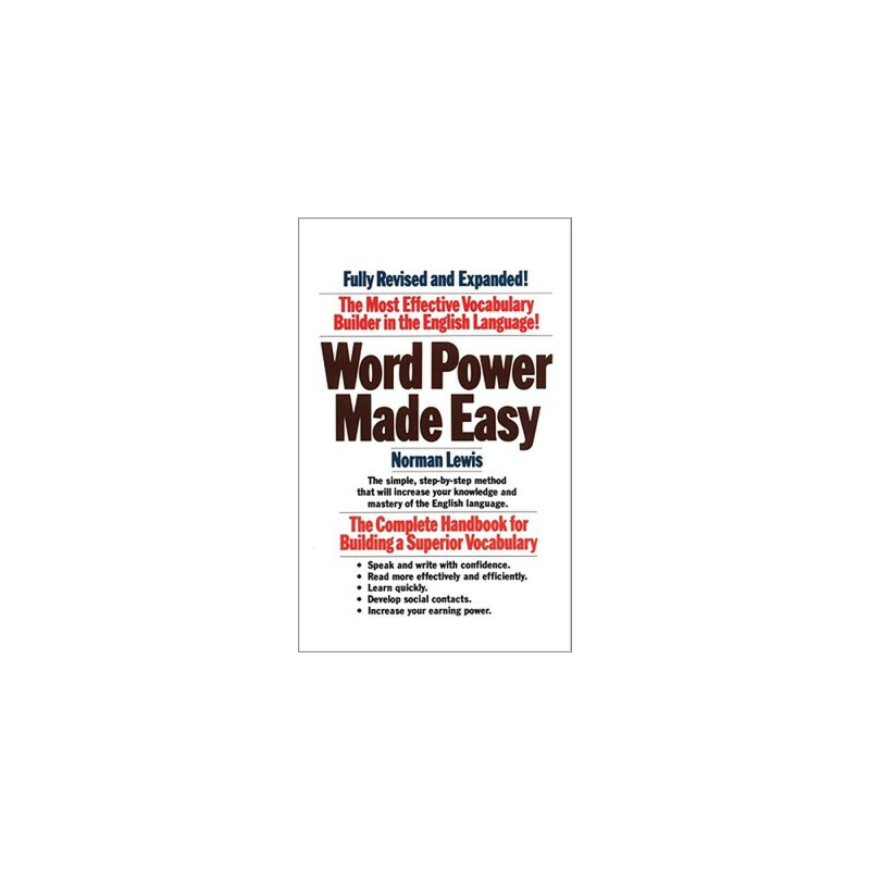 norman lewis word power made easy book pdf