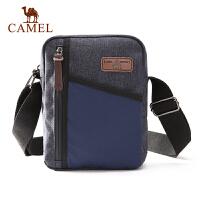 camel骆驼户外手提斜挎两用包 男款简约休闲户外包织物包