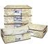 [当当自营]百草园小熊整理袋组合(3大2小) 收纳/防尘/整理/防潮收纳盒整理箱收纳箱