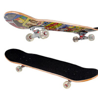 新款成人儿童滑板专业滑板车  四轮滑板双翘板公路板刷街板枫木板