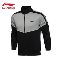 李宁男子训练系列开衫运动卫衣男士运动服外套AWDL305