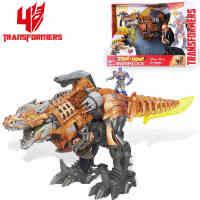 孩之宝 变形金刚电影4狂暴钢索 变形恐龙发声发光模型玩具,狂暴钢锁A6145