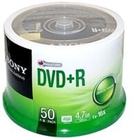 日照鑫 包邮   SONY DVD+R空白刻录光盘 50P桶装/简装 索尼DVD刻录光碟 一桶50片