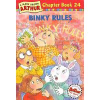 Binky Rules(Arthur Chapter Book 24)亚瑟小子:布林奇的规矩 ISBN 9780316123334