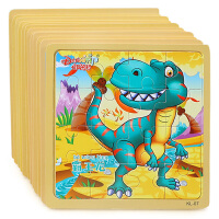 16片木质拼图幼儿宝宝早教益智力1-2-3-4-6岁儿童木制玩具