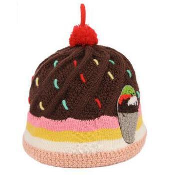 【尤萨运动帽】时尚可爱亲子可爱冰激凌帽