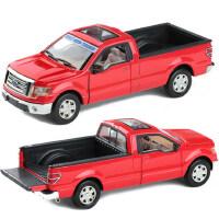 彩珀 正品保障 玩具汽车玩具车合金回力合金车模 福特皮卡