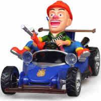 龙祥熊出没特技车 光头强玩具遥控汽车 熊出没玩具套装翻转翻斗车