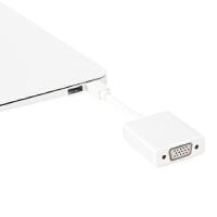 苹果 原装 品质vga转接线 MacBook air pro MAC投影仪转换器雷电转接头