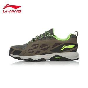李宁男鞋耐磨防滑野外跑步鞋男子轻便时尚户外运动鞋ARDK027