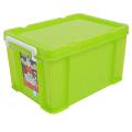 [当当自营]禧天龙Citylong 塑料20L收纳箱 透明抗压整理箱 果冻绿 1401