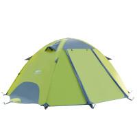 户外防雨暴雨野营套装双人双层便携沙滩休闲帐篷