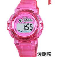 手表女孩运动电子表女中学生男孩韩版女生手表
