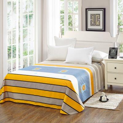 当当优品 纯棉斜纹床上用品 床单250*230cm 律动当当自营 100%纯棉 不易褪色 0甲醛 透气防潮 大尺寸