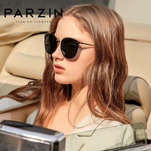 帕森太阳镜女 轻盈复古炫彩膜潮墨镜驾驶镜偏光眼镜 新品9868