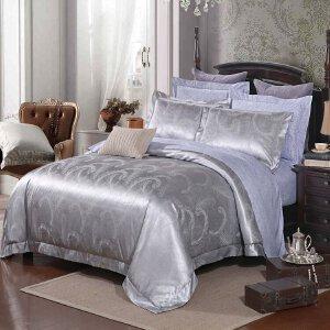 【新品上新】Toscaso欧式高档竹纤维提花四件套1.8床单被套床上用品 神秘新贵