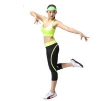 新款广场舞服装健身服女瑜伽服女士休闲运动套装