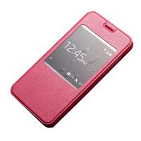坚达 手机套 保护套  薄翻盖手机皮套 适用于华为荣耀4X CHE1-CL20羊皮套Che1-CL20/CHE-TL00H皮套