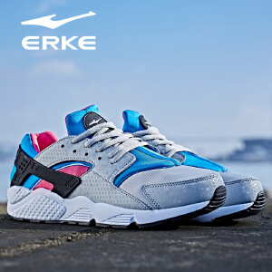 鸿星尔克男鞋运动鞋男跑步鞋新品休闲慢跑鞋男系带旅游鞋