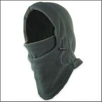 时尚防风帽头套多功能超保暖抓绒帽新款加厚款双面抓绒围脖