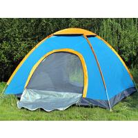 适用户外装备2双人野外露营防雨装备沙滩帐篷户外3-4人 全自动帐篷 套装