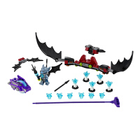 [当当自营]LEGO 乐高 Chima气功传奇 蝙蝠攻击 积木拼插儿童益智玩具 70137