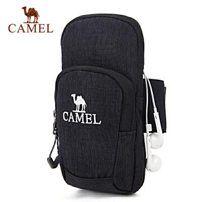 camel骆驼户外男女款运动手臂包 双袋容纳男女手臂包59元起包邮