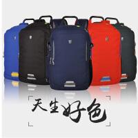 申派商务双肩包男 女休闲旅行包 防盗电脑背包 韩版潮大容量书包 sp-BZ350