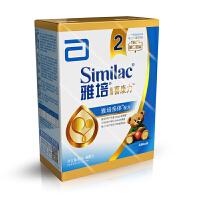 【当当自营】雅培 亲体金装喜康力较大婴儿配方奶粉2段 400g/盒(雅培2段)