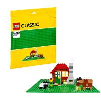 [当当自营]LEGO 乐高 CLASSIC经典创意系列 绿色底板 积木拼插儿童益智玩具 10700