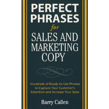 PERFECT PHRASES 4 SALES AND MARKETING(ISBN=9780071495905)