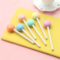 三曼多   开学季热销 学生文具 办公文具 韩国文具 马卡龙 甜美糖果色 中性笔0.35mm 颜色随机一支