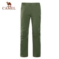 camel骆驼户外速干长裤 春夏新款男裤 透气速干裤